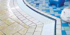 Bazénové plastové rošty