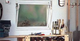 Plastové pivničné okná